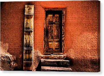 Spanish Door Canvas Print by Kathleen Stephens