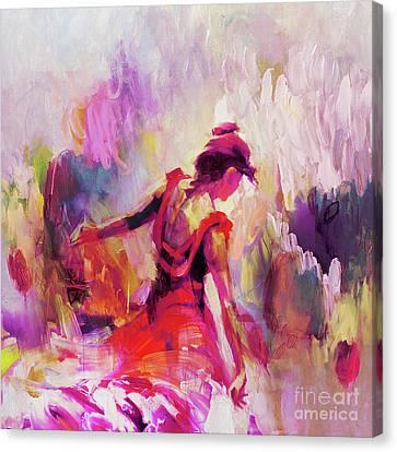 Spanish Female Art 0087 Canvas Print
