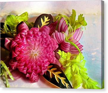 Spanish Flowers Canvas Print