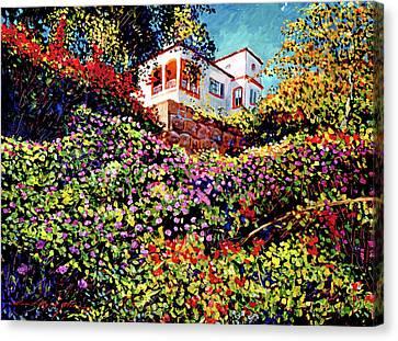 Spanish House Canvas Print by David Lloyd Glover