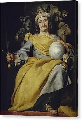 Spanish King Canvas Print
