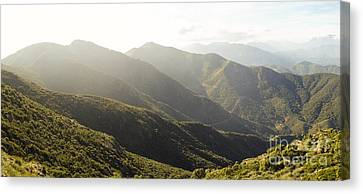 spanish mountain range, Malaga, Andalusia, Canvas Print by Perry Van Munster
