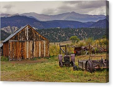 Spanish Peaks Ranch 2 Canvas Print
