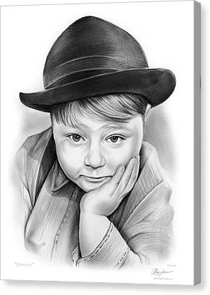 Spanky Canvas Print by Greg Joens