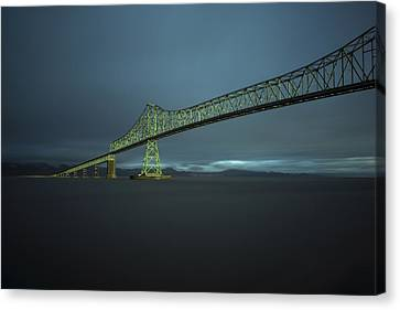 Spanning Columbia Canvas Print
