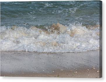 Sparking Ocean Wave Jersey Shore Canvas Print by Terry DeLuco