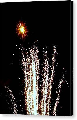 Canvas Print featuring the photograph Sparkle And Water by Michael Canning