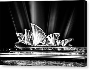 Famous Buildings Canvas Print - Sparkling by Az Jackson