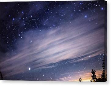 Sparkling Sky  Canvas Print