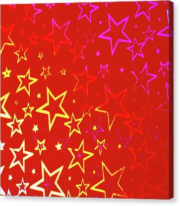 Sparkling Stars No. 01 Canvas Print by Ramon Labusch