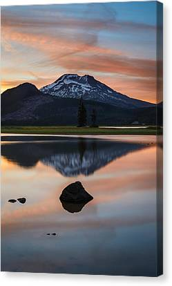 Sparks Lake At Sunset Canvas Print