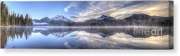 Sparks Lake Splendor Canvas Print by Twenty Two North Photography