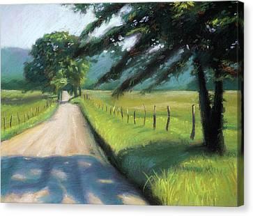 Sparks Lane Canvas Print by Christopher Reid