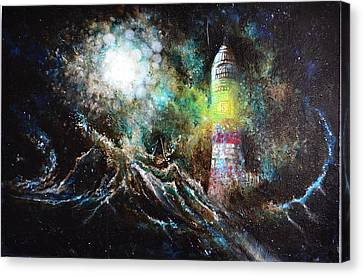 Sparks - The Storm At The Start Canvas Print