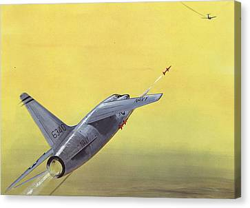 Sparrow Air To Air Missile  Canvas Print by American School