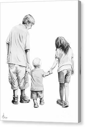Special Children Canvas Print by Murphy Elliott