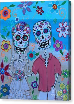 Special Mexican Wedding Canvas Print by Pristine Cartera Turkus