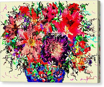 Spectacular Flowers Canvas Print by Natalie Holland