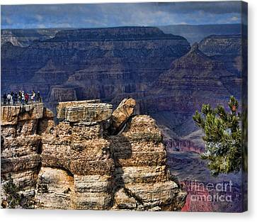 Canvas Print featuring the photograph Spectacular Grand Canyon by Roberta Byram