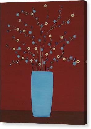 Spectrum Of Foliage Canvas Print by Sandy Bostelman