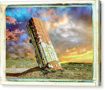 Speed Bump Canvas Print by Dominic Piperata