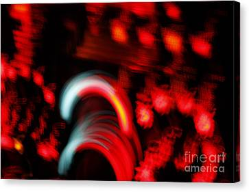 Canvas Print featuring the painting Speed by Xn Tyler