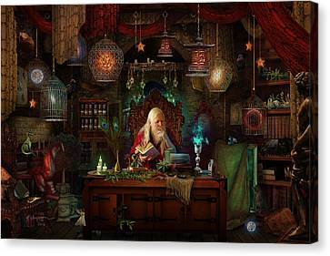 Spellbound Canvas Print by Cassiopeia Art