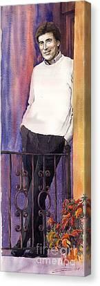 Spenser 01 Canvas Print by Yuriy  Shevchuk