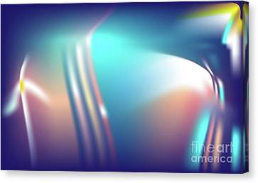 Canvas Print featuring the digital art Spero by Ron Labryzz