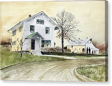 Sperry Homestead Canvas Print