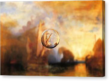 Sphere 11 Turner Canvas Print by David Bridburg
