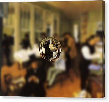 Sphere 17 Degas Canvas Print by David Bridburg
