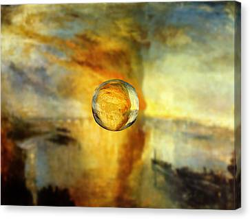 Sphere 26 Turner Canvas Print