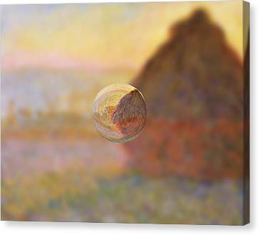Sphere 5 Monet Canvas Print by David Bridburg