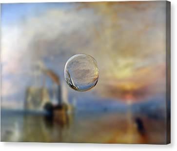 Sphere 6 Turner Canvas Print by David Bridburg