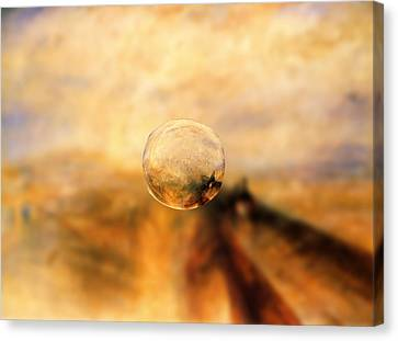 Sphere 8 Turner Canvas Print by David Bridburg