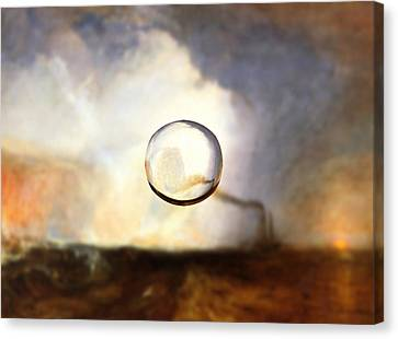 Sphere I Turner Canvas Print by David Bridburg