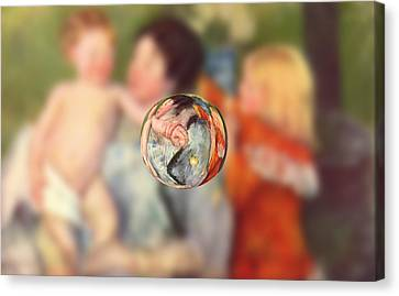 Sphere II Cassatt Canvas Print by David Bridburg
