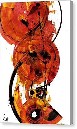 Abstract Expressionism Canvas Print - Sphere Series 156.102810 by Kris Haas