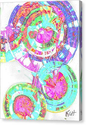 Sphere Series 965.030812vsscinvx3fddfx3 Canvas Print by Kris Haas