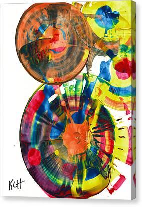 Sphere Series 967.030812 Canvas Print by Kris Haas