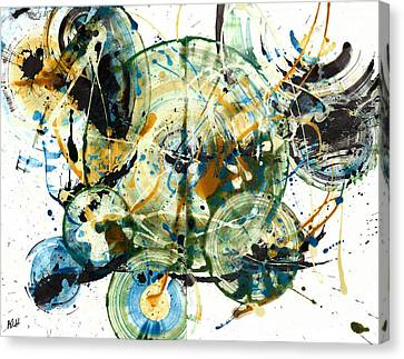 Spherical Joy Series 170.171.011011 Canvas Print by Kris Haas