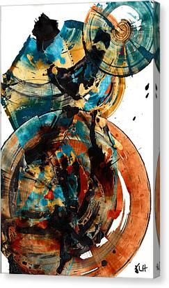 Spherical Joy Series 208.012011 Canvas Print by Kris Haas