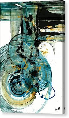 Spherical Joy Series 210.012011 Canvas Print by Kris Haas