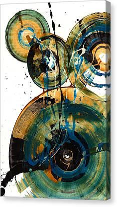 Spherical Joy Series 46.040511 Canvas Print by Kris Haas