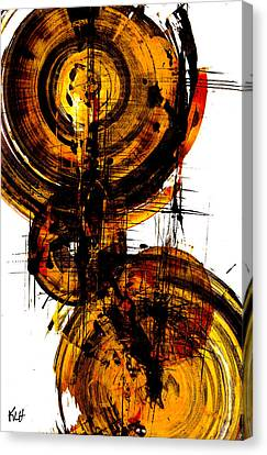 Spherical Joy Series 51.041011vsscvs Canvas Print by Kris Haas