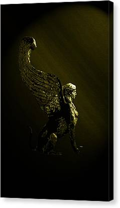 Sphinx Canvas Print by Laura Greco