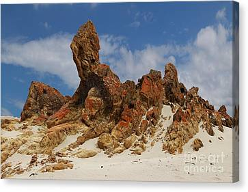 Canvas Print featuring the photograph Sphinx Of South Australia by Stephen Mitchell