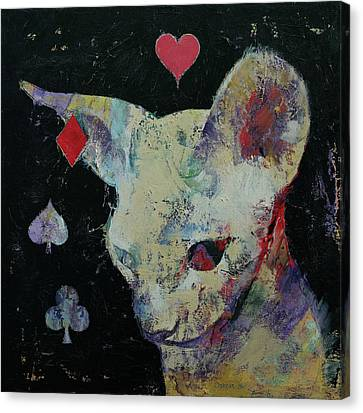 Sphynx Cat Lover Canvas Print