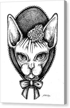 Sphynx Lady Canvas Print